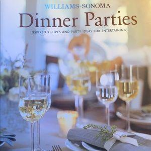 Williams Sonoma Dinner Parties cookbook